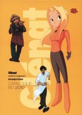 (Catalogues) Éditeurs, agences, festivals, fabricants de para-BD... - Catalogue 2010 - Glénat