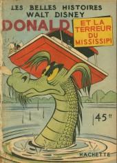 Les belles histoires Walt Disney (1re Série) -8- Donald et la terreur du mississipi