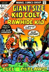Giant-size Kid Colt (1975) -1- Duel of the outlaws !