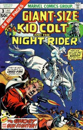 Giant-size Kid Colt (1975) -3- Kid Colt and the Ghost gun-fighter !