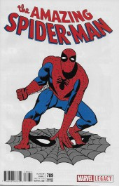 Amazing Spider-Man (The) (Marvel Legacy - 2017) -789D- Fall of Parker Part 1