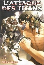L'attaque des Titans -INT10- Tomes 19 et 20