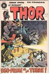 Thor (Éditions Héritage) -12- ... et personne n'ose affronter Ego-Prime !