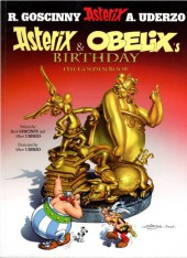 Astérix (en anglais) -34- Asterix & Obelix's Birthday - The Golden Book