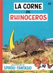 Spirou et Fantasio -6c2004- La corne de rhinocéros