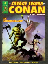 Savage Sword of Conan (The) (puis The Legend of Conan) - La Collection (Hachette) -4- Le conquérant