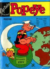 Popeye (Cap'tain présente) -151- Popeye - la révolte des robots