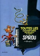 (AUT) Franquin -28a- Toutes les couvertures des recueils du journal de SPIROU par Franquin