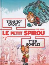 Le petit Spirou (Albums doubles) -8- Tiens-toi droit ! / T'es gonflé !
