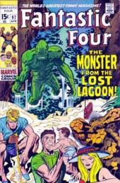 Fantastic Four (1961) -97- The monster from the lost lagoon!