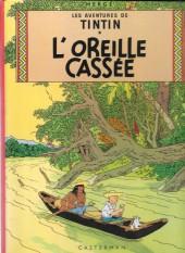 Tintin (Historique) -6C3bis- L'oreille cassée
