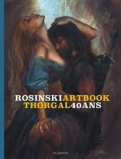 Thorgal -HS- Artbook Thorgal - 40 ans