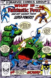 What If? vol.1 (1977) -36- What if the fantastic four had not gained their super-powers?