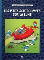 Les schtroumpfs - La collection (Hachette) -48- Les p'tits schtroumpfs sur la Lune