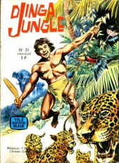 Télé série bleue (Les hommes volants, Destination Danger, etc.) -31- Djinga jungle - Les gnomes des falaises