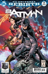 Batman (2016) -34A- The Rules of Engagement, Part Two