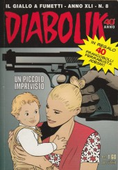 Diabolik (anno XLI) -8- Un piccolo imprevisto