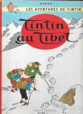 Tintin (Historique) -20B36- Tintin au Tibet