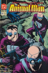 Animal Man Vol.1 (DC comics - 1988) -42- Men Without Eyes
