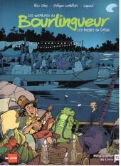 Les aventures du Bourlingueur -2- Les barges du Congo