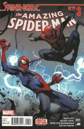 Amazing Spider-Man (The) (2014) -11- Spider-verse part three : Higher ground