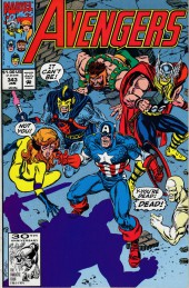 Avengers Vol. 1 (Marvel Comics - 1963) -343- First night
