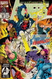 Avengers Vol. 1 (Marvel Comics - 1963) -362- A vision revealed
