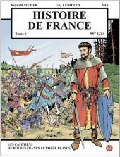 Histoire de France -6- Les Capétiens : du Roi des Francs au Roi de France