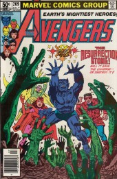 Avengers Vol. 1 (Marvel Comics - 1963) -209- The resurrection stone