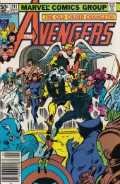 Avengers Vol. 1 (Marvel Comics - 1963) -211- By force of mind