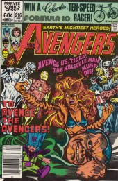 Avengers Vol. 1 (Marvel Comics - 1963) -216- To avenge an avenger