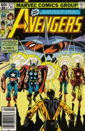 Avengers Vol. 1 (Marvel Comics - 1963) -217- Double cross