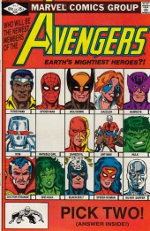 Avengers Vol. 1 (Marvel Comics - 1963) -221- New blood