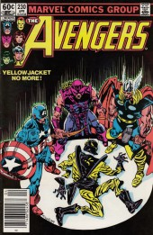 Avengers Vol. 1 (Marvel Comics - 1963) -230- The last farwell