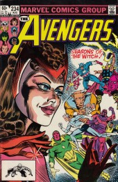 Avengers Vol. 1 (Marvel Comics - 1963) -234- The witch's tale