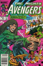 Avengers Vol. 1 (Marvel Comics - 1963) -241- Dark angel