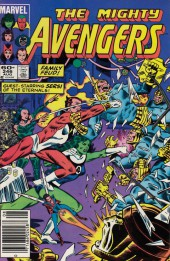 Avengers Vol. 1 (Marvel Comics - 1963) -246- Gatherings