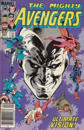 Avengers Vol. 1 (Marvel Comics - 1963) -254- Absolute vision
