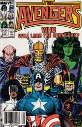 Avengers Vol. 1 (Marvel Comics - 1963) -279- command decision