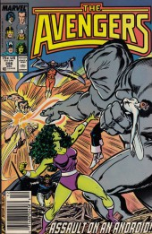 Avengers Vol. 1 (Marvel Comics - 1963) -286- The fix is on