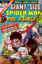 Giant-Size Spider-Man (1974) -3- Spider-man and Doc Savage
