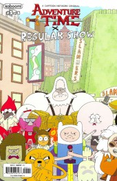 Adventure Time x Regular Show -5A- Adventure Time x Regular Show Part 5 Of 6