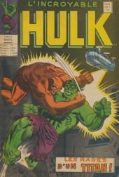 L'incroyable Hulk (Éditions Héritage) -1- les rages d'un titan