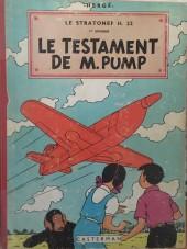 Jo, Zette et Jocko (Les Aventures de) -1B20- Le Testament de Mr Pump