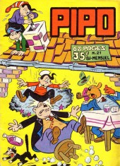 Pipo (Lug) -21- Mite au logis : Les 3 Hercule...