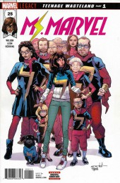 Ms. Marvel (2016) -25- Teenage Wasteland Part 1
