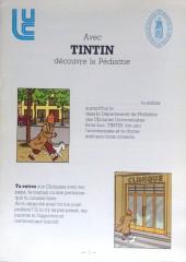 Tintin - Publicités -Clinique- Avec Tintin, découvre la pédaitrie