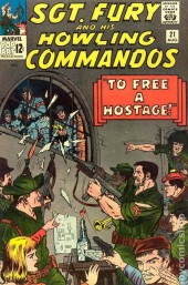 Sgt. Fury and his Howling Commandos (Marvel - 1963) -21-