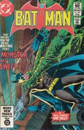 Batman Vol.1 (DC Comics - 1940) -344- Monster, my sweet