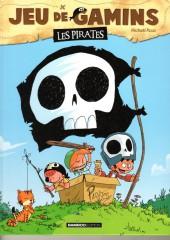 Jeu de gamins -1a- Les pirates